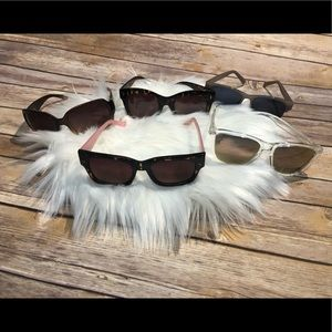 LOT of 5 fun & stylish sunglasses 